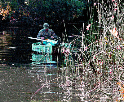 Photograph - Mokelumne River Fishing by Joseph Coulombe