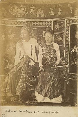 Adornment Photograph - Mokmai Mawk Mai Sawbwa by British Library