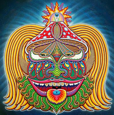 Moksha Master Art Print by Chris Dyer