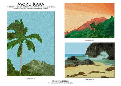 Moku Kapa Poster Art Print by Kenneth Grzesik