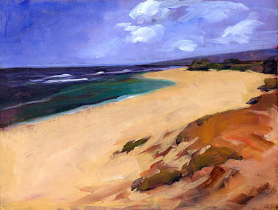 Hawaiian Islands Painting - Mokuleia by Douglas Simonson