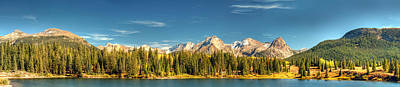 Photograph - Molas Lake And The Needle Range Pan 2 by Ken Smith