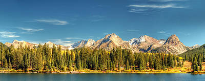 Photograph - Molas Lake And The Needles Pan 1 by Ken Smith