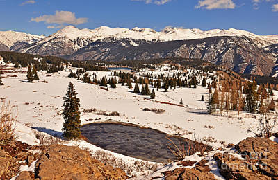 Photograph - Molas Pass Winter by Kelly Black