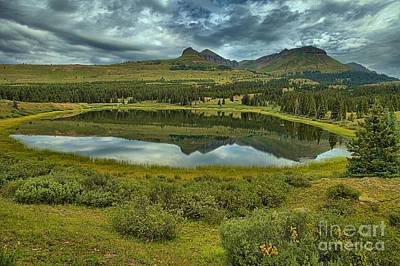 Photograph - Molas Reflections by Adam Jewell
