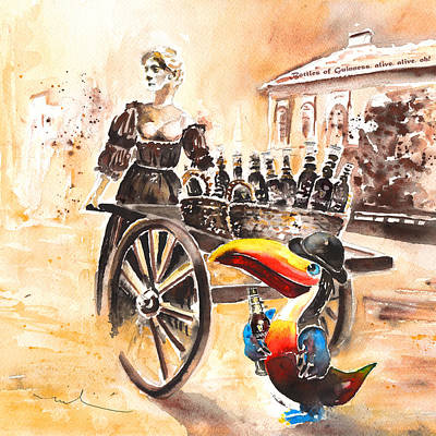 Molly Malone Art Print by Miki De Goodaboom