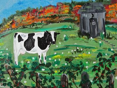 Molly's Field Art Print
