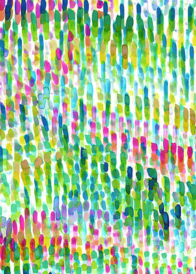 Abstract Digital Painting - Molokai by Amy Sia