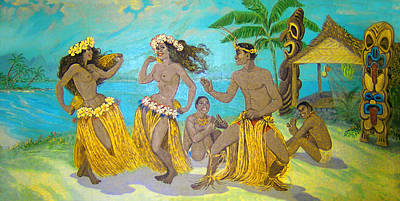 Bakery Digital Art - Moloka'i Hula 3 by James Temple