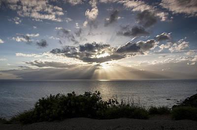 Molokai Sunset Art Print by Charlie Osborn