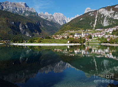 Photograph - Molveno - Italy by Phil Banks