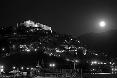 Journey Photograph - Molyvos Under Full Moon by George Atsametakis