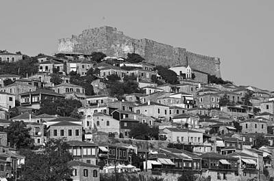 House Photograph - Molyvos Village by George Atsametakis