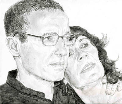 Drawing - Mom And Dad by Tamir Barkan