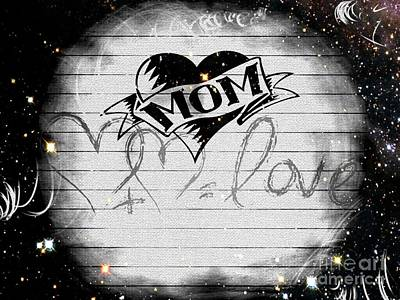 Love Photograph - Mom I by Daryl Macintyre