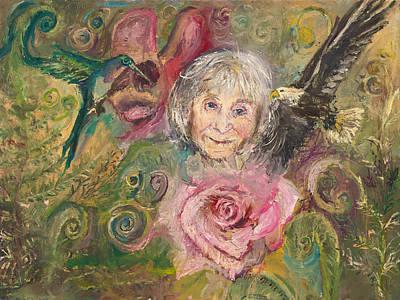 Mom Jeanne Art Print
