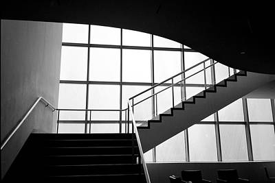 Photograph - Moma Stairs 1 by Cornelis Verwaal