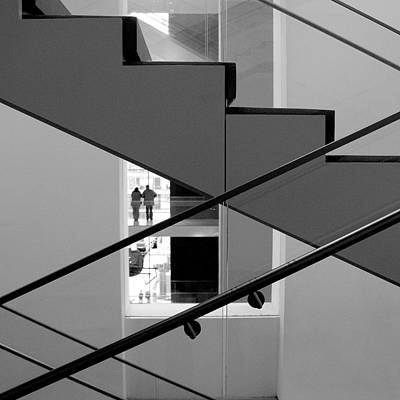 Photograph - Moma Stairs 2 by Cornelis Verwaal