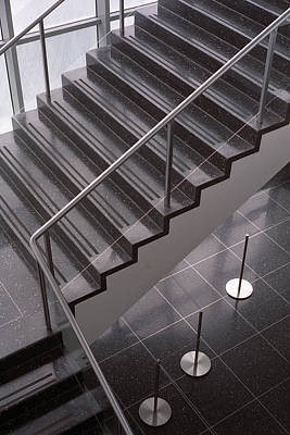 Photograph - Moma Stairs 5 by Cornelis Verwaal