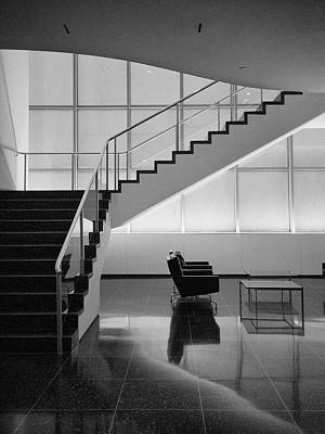 Photograph - Moma Stairs 6 by Cornelis Verwaal