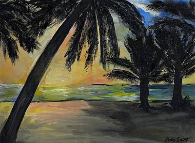 Painting - Mombasa Sunrise  by Katie Sasser