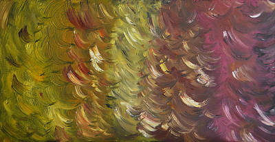 Moment Breeze - Sold-oil Painting Art Print