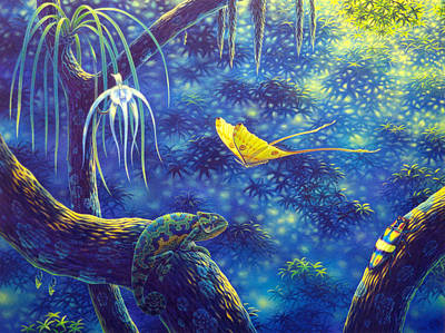 Painting - Moment In The Forest by Tuco Amalfi