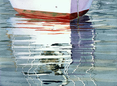 Painting - moment of Reflection XVI by Marguerite Chadwick-Juner