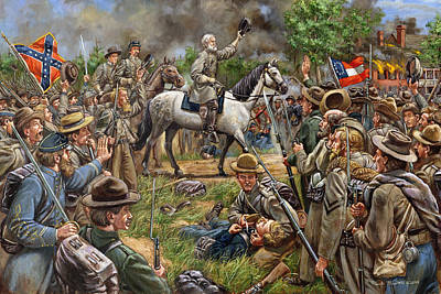 Robert E Lee Painting - Moment Of Triumph by Mark Maritato