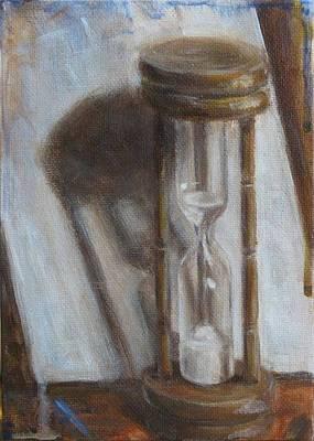 Still Life Painting - Moments Time by Josh Hertzenberg