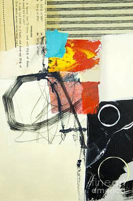 Abstraction Mixed Media - Momentum by Elena Nosyreva