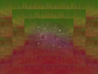 Abstract Movement Digital Art - Momentum by Tim Allen