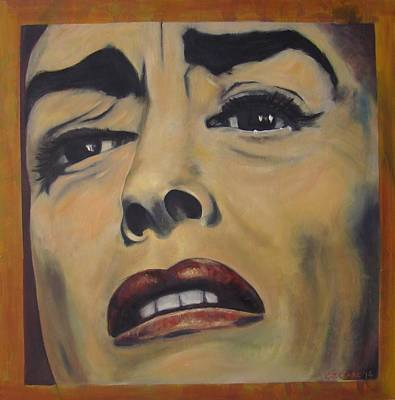 Joan Crawford Painting - Mommy Dearest by Christina Clare
