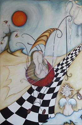 Painting - Momo-07 by Belen Jauregui