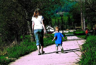 Photograph - Moms And Sons by Sadie Reneau
