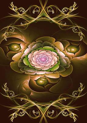 Phil Clark Digital Art - Mom's Flower by Phil Clark