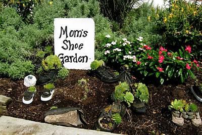 Photograph - Moms Shoe Garden by Tana Reiff
