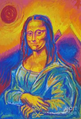 Mona Art Print by Jedidiah Morley