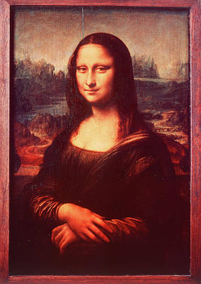 Vintage Camera Painting - Mona Lisa By Leonardo Da Vinci by Vintage Images