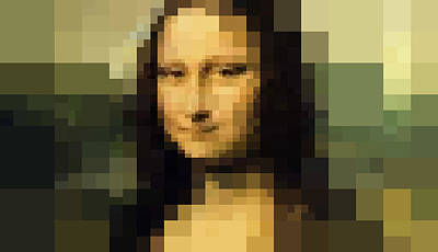 Da Vinci Digital Art - Mona Lisa La Gioconda by Vitaliy Gladkiy
