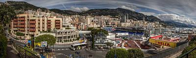 Sports Photograph - Monaco by Alex Saunders