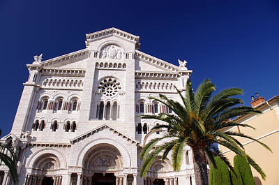 Monaco Cathedral Art Print by Ioan Panaite