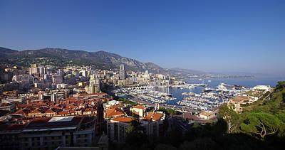 Monaco Art Print by Ioan Panaite