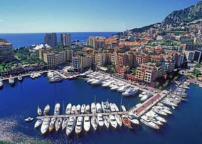 Monaco, La Condamine Art Print by Hans-peter Merten