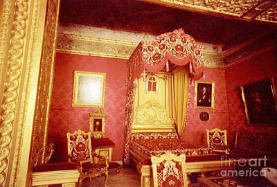 Monaco Palace Bedroom Art Print