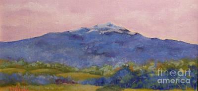 Mt. Monadnock Painting - Monadnock Fantasia by Alicia Drakiotes