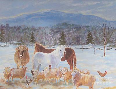 Mt. Monadnock Painting - Monadnock Symphony by Alicia Drakiotes