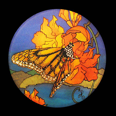 Curated Weekender Tote Bags - Monarch Butterfly by Annelle Woggon
