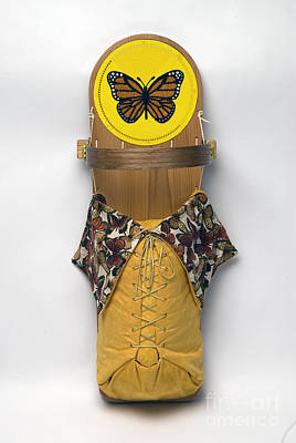Beadwork Mixed Media - Monarch Butterfly by Douglas K Limon