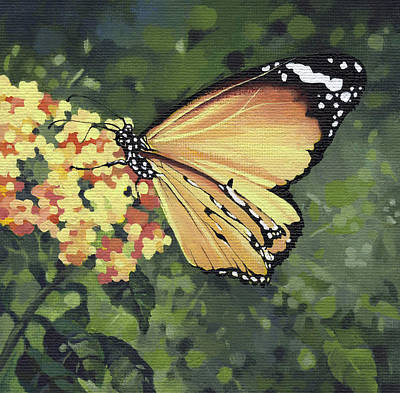 Painting - Monarch Butterfly by Natasha Denger